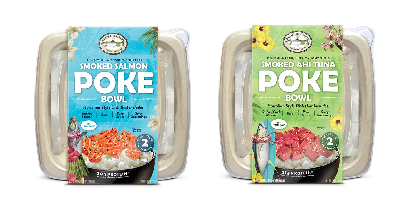 Acme Smoked Fish Introduces Ready-to-eat Hawaiian Smoked Fish Poke Bowls From Blue Hill Bay
